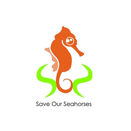 SOS seahorse logo